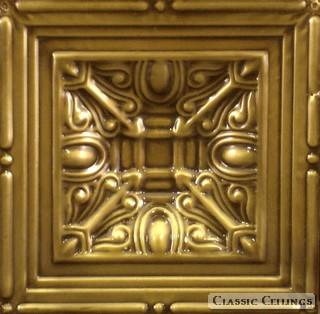 Tin Ceiling Design 1x1508 Antique Plated Brass