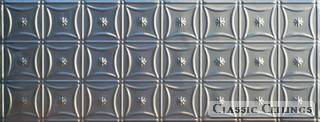 Tin Ceiling Design 200 Backsplash Stainless Steel 1.5x4
