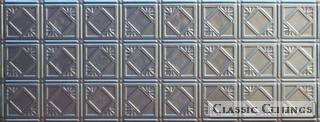Tin Ceiling Design 207 Backsplash Stainless Steel 1.5x4