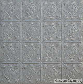 Tin Ceiling Design 209 Painted 001 Black White Vein
