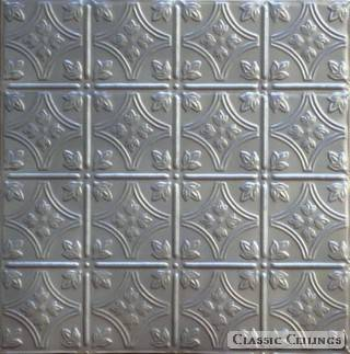 Tin Ceiling Design 209 Perforated Acoustic Painted 202 Gun Metal