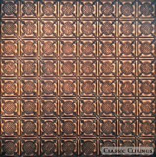 Tin Ceiling Design 234 Antique Plated Copper