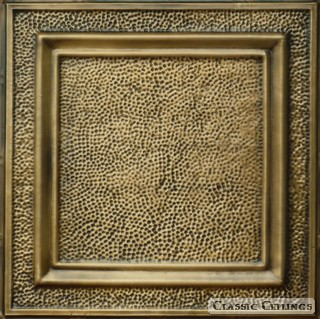 Tin Ceiling Design 511 Antique Plated Brass