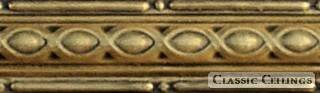 Tin Ceiling Design 903 Antique Plated Brass