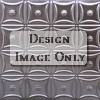 2x2 Perforated Antique Plated Tin Ceiling Design 200