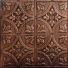Tin Ceiling Design 309 Antique Plated Copper 2x4
