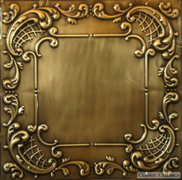 2x4 Antique Plated Tin Ceiling Design 515