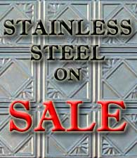 Tin Ceiling Stainless Steel Sale